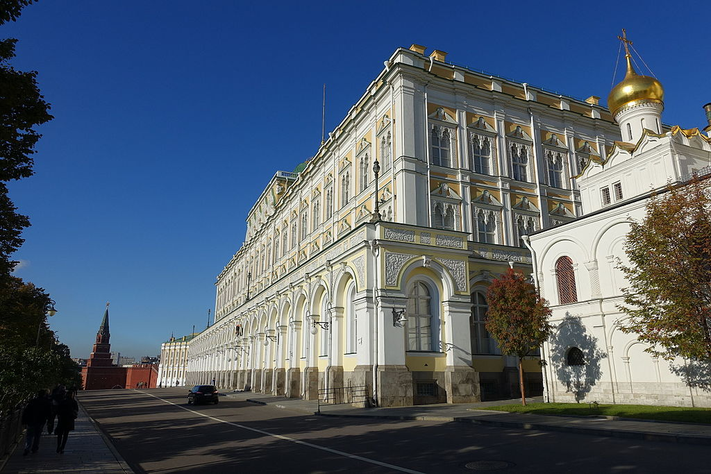 The Grand Kremlin Palace in 2015